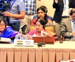 Sushma refers to Pulwama at SCO meet