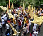 BJP celebrates 'Bhumi Pujan' day of Ram Temple in Ayodhya