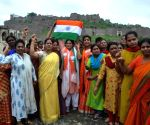 BJP celebrates 'Hyderabad Liberation Day' at Golconda Fort