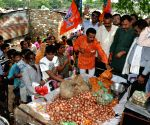 BJP protest for Onions