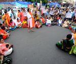 BJP's protest against harassment of Babul Supriyo at Jadavpur University