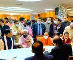 BJP candidates file nomination for UP Vidhan Parishad
