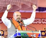 Devanahalli (Karnataka): Amit Shah at BJP meeting in Karnataka