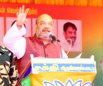 Amit Shah at a public meeting in Tamil Nadu