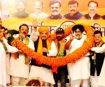 Pathankot (Punjab): 2019 LS polls: Amit Shah, Sunny Deol, Sukhbir Singh Badal's public rally