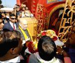 Udaipur (Tripura): Amit Shah visits Tripura Sundari Temple