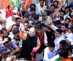 Amit Shah celebrates party's performance in Assam