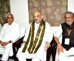 Amit Shah meets Nitish Kumar