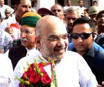 Modi greets Amit Shah on 54th birthday