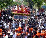 2019 Lok Sabha elections - Amit Shah's roadshow