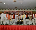Amit Shah addresses BJP meeting