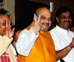BJP press conference - Amit Shah