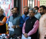 BJP delegation comprising BJP National General Secretary & MP  Dushyant Gautam, Union Minister  M.A. Naqvi and BJP MPs Sunita Duggal, Bhola Singh & Hans Raj Hans will meet ECI today 11 April at Nirvachan Sadan, New Delhi