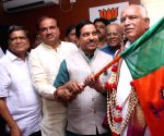 BS Yedduyurappa charge as Karnataka BJP chief