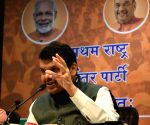 Devendra Fadnavis' press conference