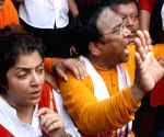 Police charge batons on BJP workers - Dilip Ghosh