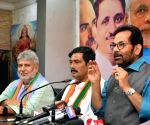 Mukhtar Abbas Naqvi's press conference