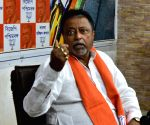 Mukul Roy's press conference