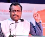 Ram Madhav during a programme