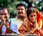 BJP election campaign - Roopa Ganguly