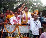 Sarbananda Sonowal's roadshow