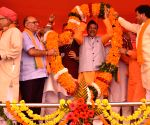 Satish Poonia takes charge as Rajasthan BJP President