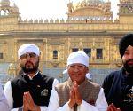 BJP leader Sunil Shastri at Golden Temple