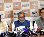 Sushil Kumar Modi's press conference