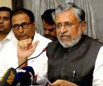 : Patna: BJP press conference