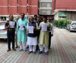 Sushil Kumar Modi meets CEC