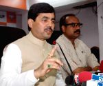 Patna: Shahnawaz's press conference