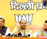 Vijender Gupta's press conference