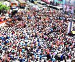 """Mangalore (Karnataka): BJP's """"Mangalore Chalo"""" protest rally"""
