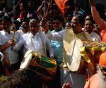 Karnataka bypoll - BJP celebration