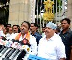 BJP's Mukul Roy, Arjun Singh meet West Bengal Governor