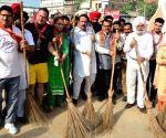 BJP organises cleanliness programme on PM Modi's birthday