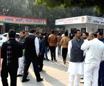 BJP leaders wait for announcement of list of candidates