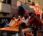 2019 LS polls: Manoj Tiwari's road show