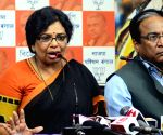 BJP Mahila Morcha chief's press conference