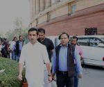 Gautam Gambhir at Parliament