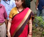 Meenakshi Lekhi inaugurates Wet Waste Composting Unit