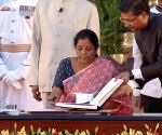 Nirmala Sitharaman takes oath as Union Minister