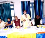 Ram Kripal Yadav at Municipal Corporation meeting