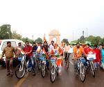 BJP's 'Tiranga Yatra' on Independence Day eve