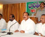 BJP National Leader Venkaiah Naidu addressing media
