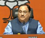 J.P. Nadda's press conference