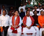 J.P. Nadda visits Jagannath Temple