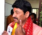 2019 Lok Sabha polls - Phase VI - Manoj Tiwari