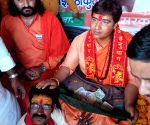 Sadhvi Pragya Singh Thakur during interactive session