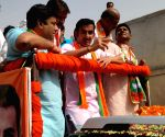 2019 Lok Sabha elections - BJP's Gautam Gambhir during poll campaign